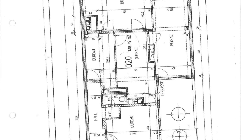 Plans bureaux 15 rue Glesener-1
